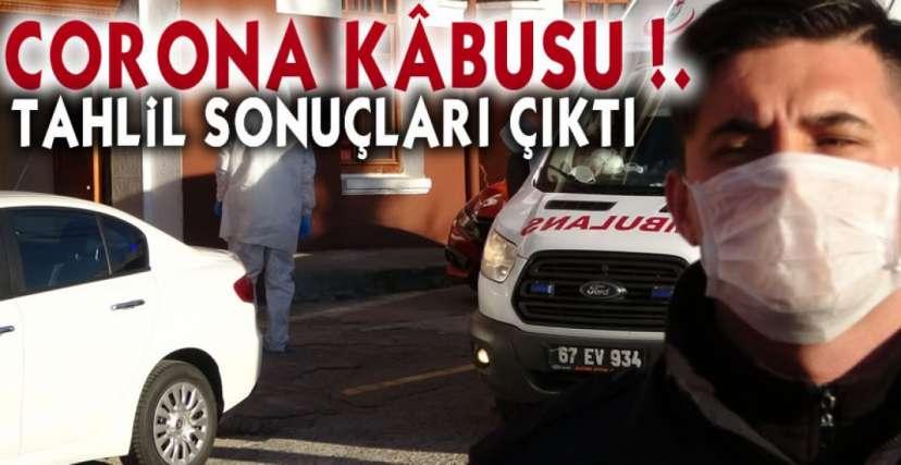 CORONA ALARMINDA SON DAKİKA !.