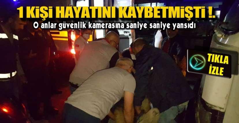 ELEKTRİK AKIMINA KAPILMIŞTI !.