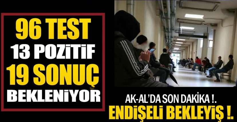 YENİ POZİTİF VAKALAR VAR !.