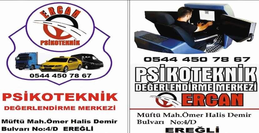 ERCAN PSİKOTEKNİK !.