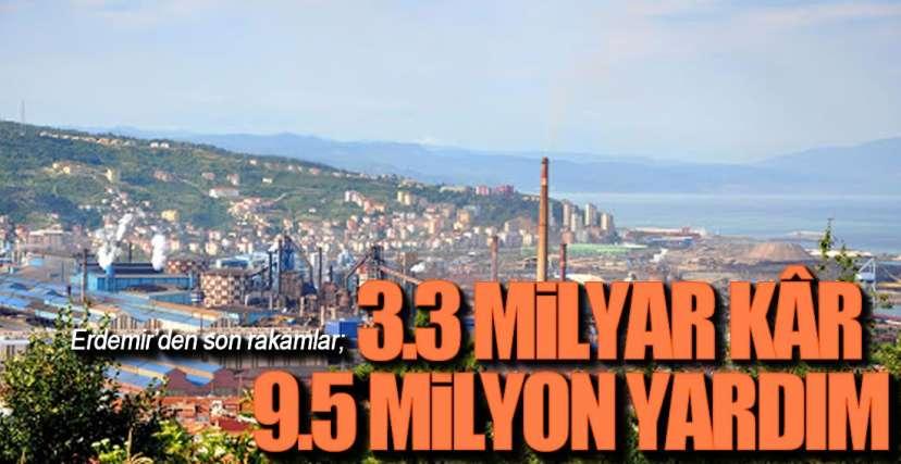 ERDEMİR'DEN SON RAKAMLAR !.