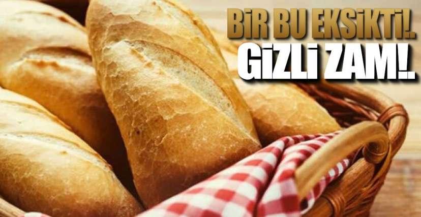 EREĞLİ'DE EKMEK ZAMMI !.