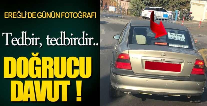 EREĞLİ'DE GÜNÜN FOTOĞRAFI !.