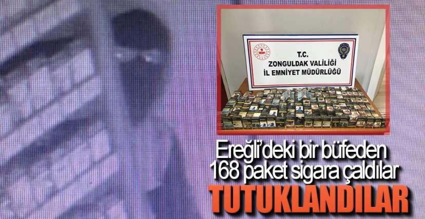 EREĞLİ'DE HIRSIZLIK !.