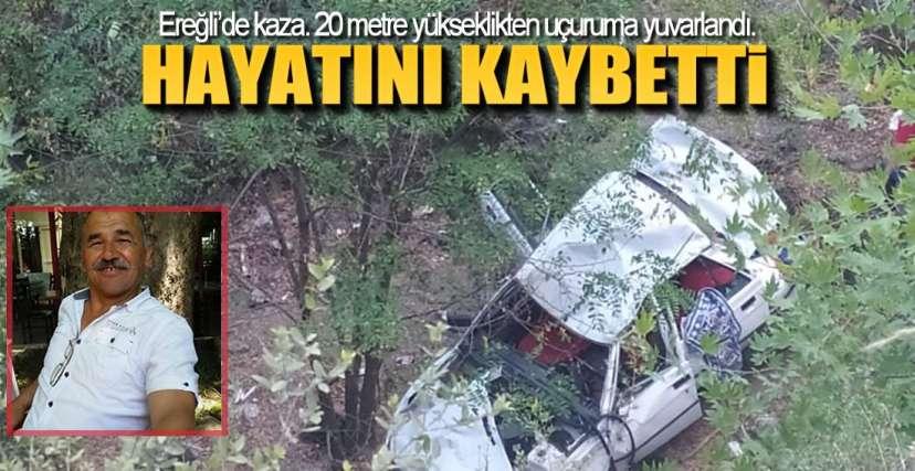 EREĞLi'DE ÖLÜMLÜ KAZA !.