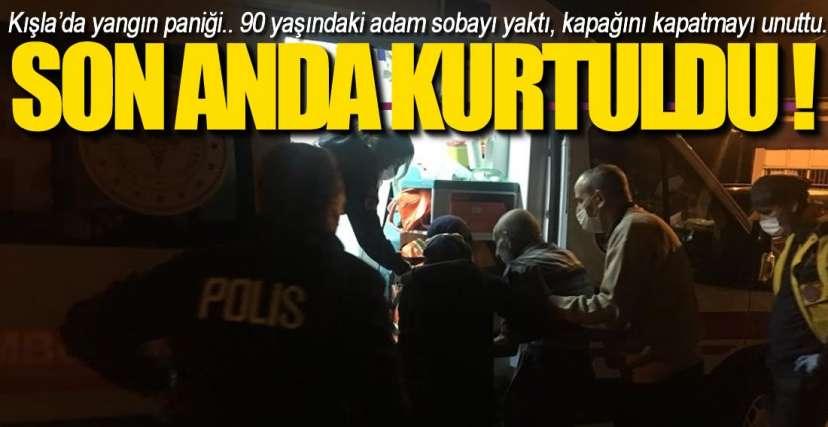 EREĞLİ'DE YANGIN PANİĞİ !.
