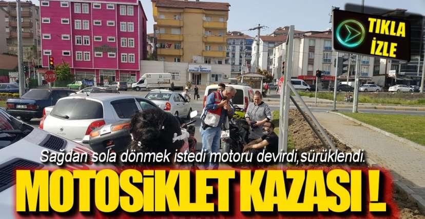 EREĞLİ'DEN BİR KAZA HABERİ DAHA !.