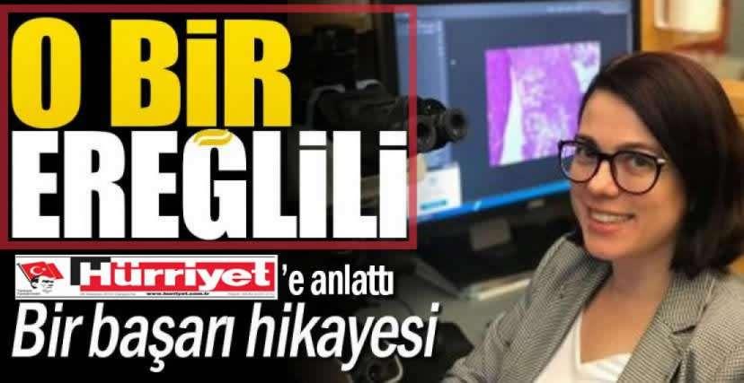 EREĞLİ'DEN KANSER ARAŞTIRMA MERKEZLERİNE ULAŞAN YOLCULUK !.