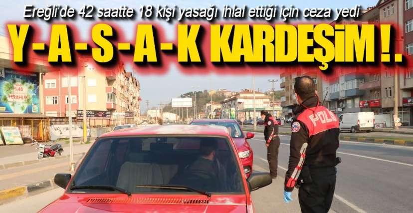 EREĞLİ DEVLETE ÇALIŞIYOR !.