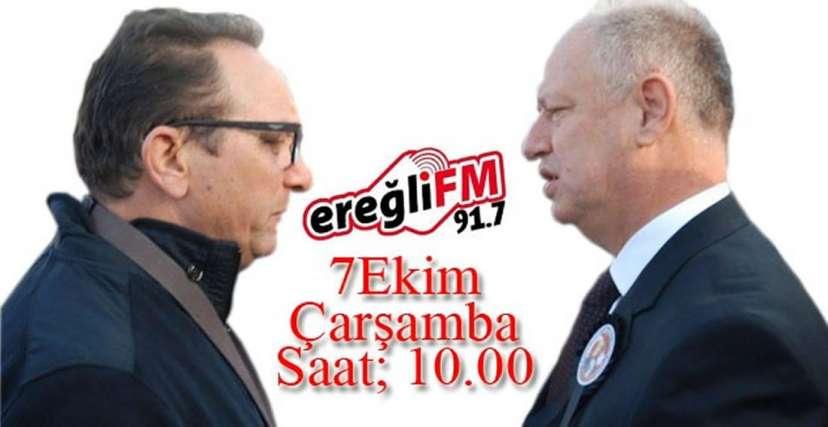 EREĞLİ FM GÜNDEMİ BELİRLİYOR !.