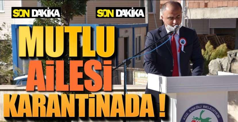 EŞİ VE OĞLU POZİTİF !.