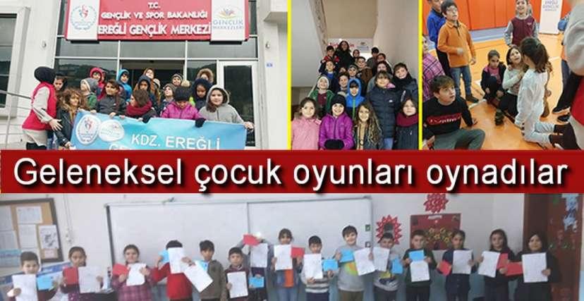 GELENEKLERİ YAŞATIYORLAR !.
