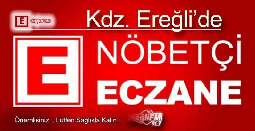HAFTASONU NÖBETÇİ ECZANE LİSTESİ!.