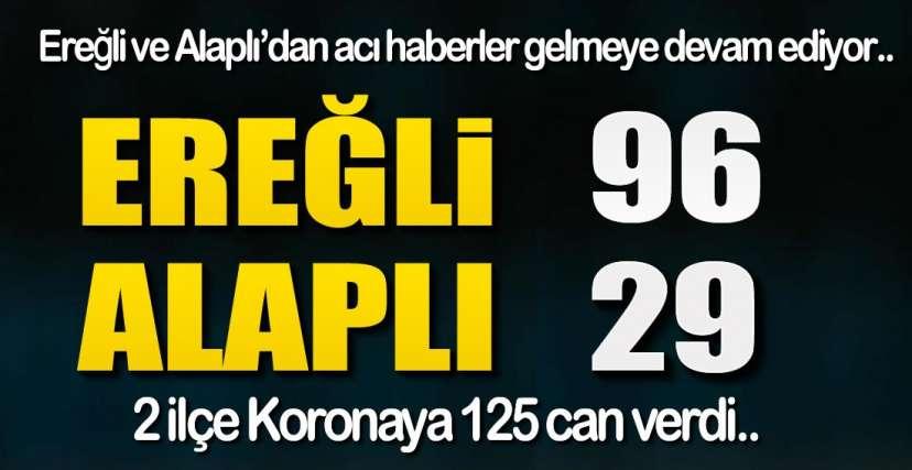 İKİ İLÇE 125 CAN !.