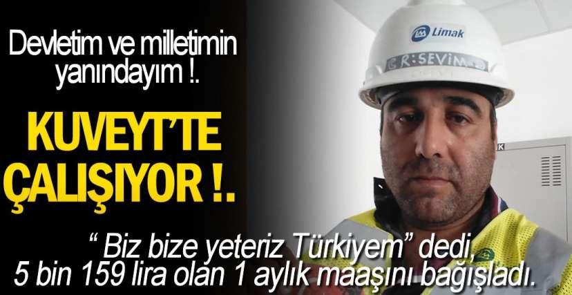 İNŞAAT İŞÇİSİNDEN ÖRNEK DAVRANIŞ!.