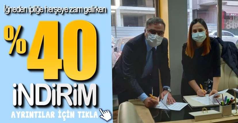 İŞBİRLİĞİ PROTOKOLÜ İMZALANDI !.