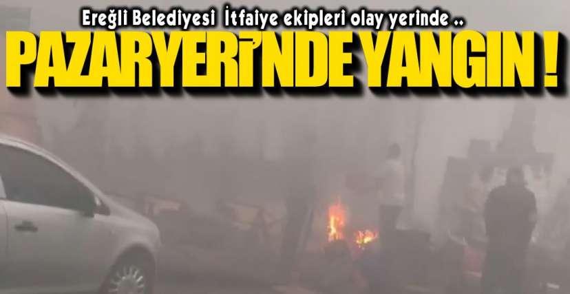 İTFAİYE OLAY YERİNDE!.