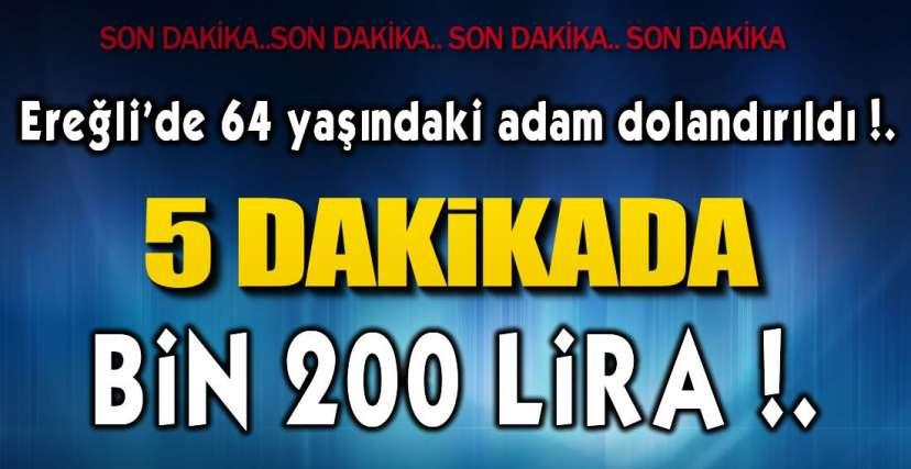 İYİ NİYETLE PARA BOZDU !.