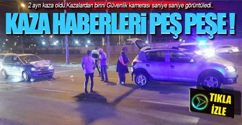 KAZA ANI GÜVENLİK KAMERASINDA !.