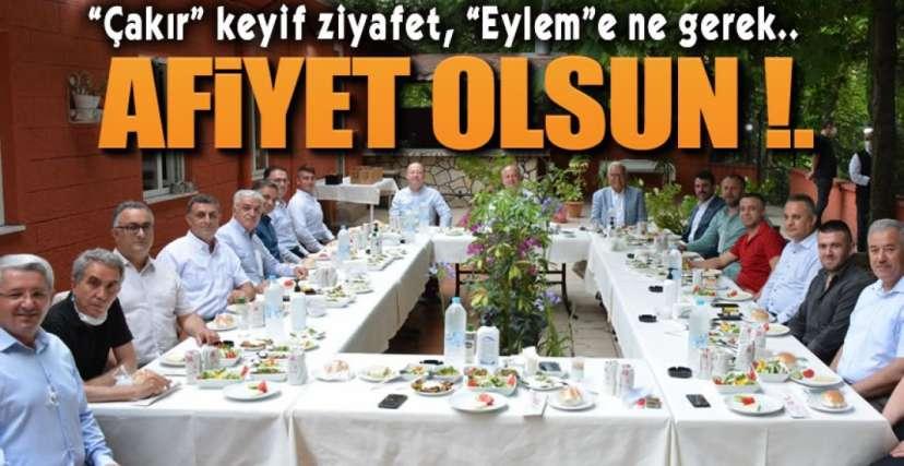 DAVET ETMEDİ !.