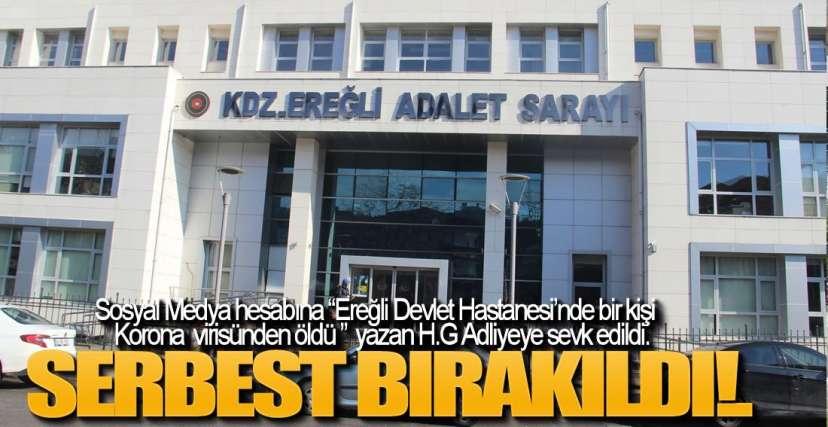 KORKU VE PANİĞE NEDEN OLDU, SERBEST BIRAKILDI !.