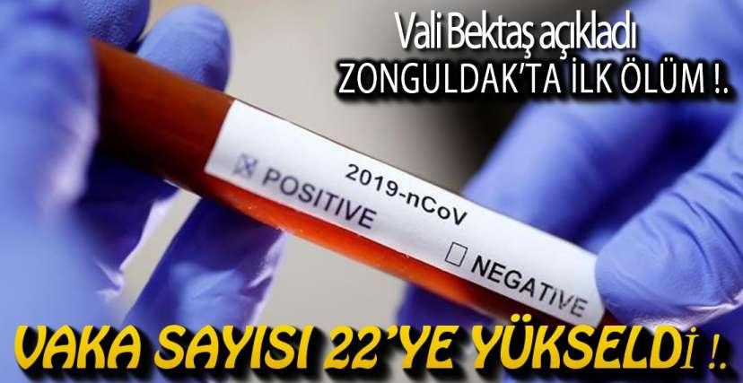 KORONA VİRÜS ZONGULDAK'TA CAN ALDI!.