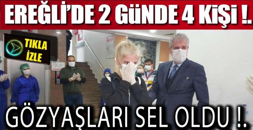 KORONAYI YENDİLER, TABURCU OLDULAR !.