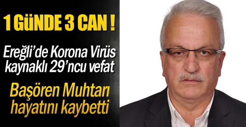 KÖY MUHTARI HAYATINI KAYBETTİ!.