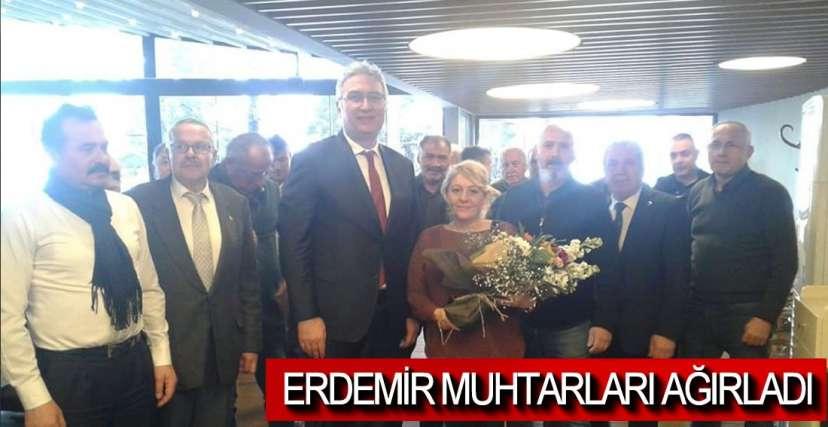 MUHTARLAR ERDEMİR'DE