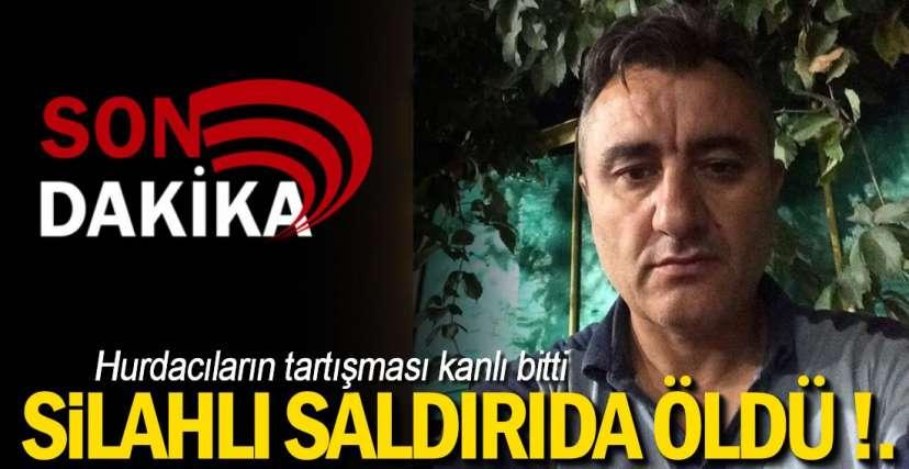SİLAHLI SALDIRI ; 1 ÖLÜ !.