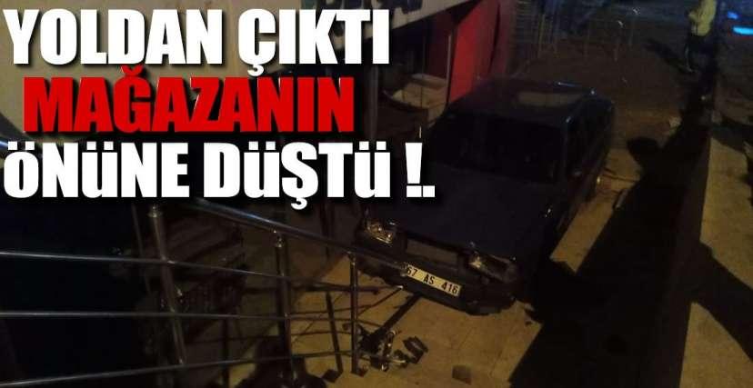 ŞİŞEDE DURDUĞU GİBİ DURMADI !.