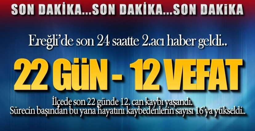 SON 22 GÜNDE 12.ÖLÜM !.