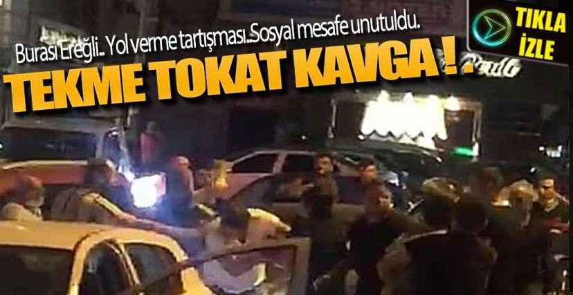 SOSYAL MESAFEYİ UNUTTULAR !.