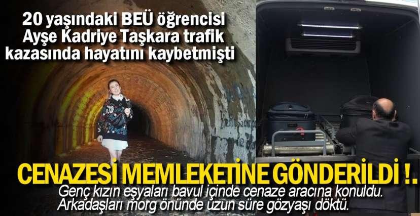 SÜRÜCÜ GÖZALTINA ALINDI !.