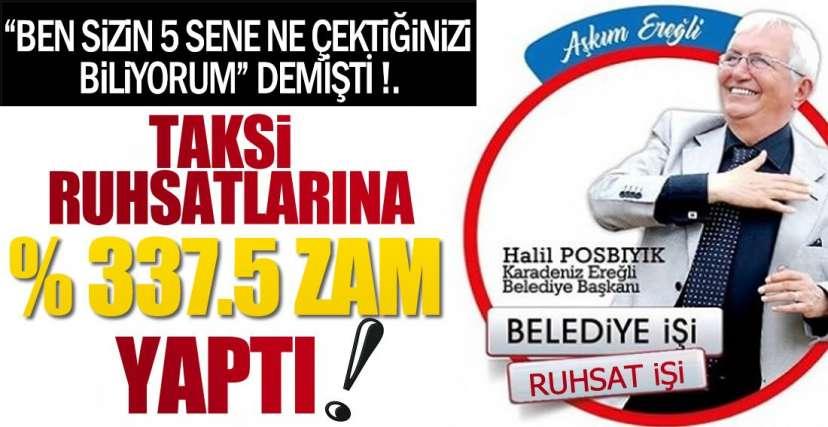 TAKSİCİ ESNAFINA ŞOK !.