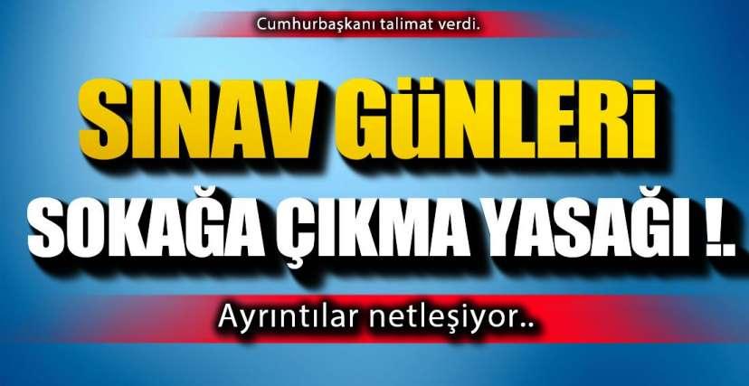TALİMAT CUMHURBAŞKANINDAN !.