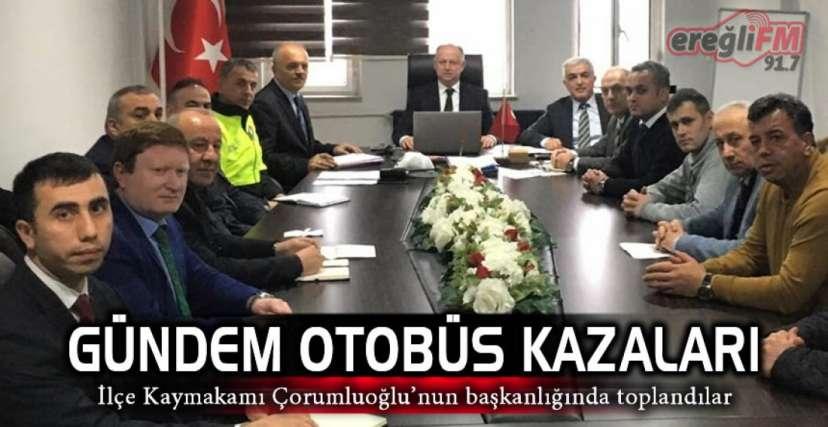 TEDBİRLER KONUŞULDU !.