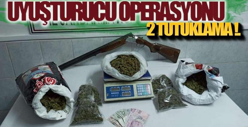 UYUŞTURUCU TACİRLERİ TUTUKLANDI !.