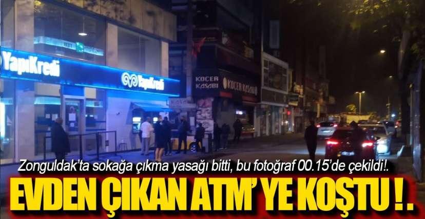YASAK BİTİNCE ZONGULDAK !.