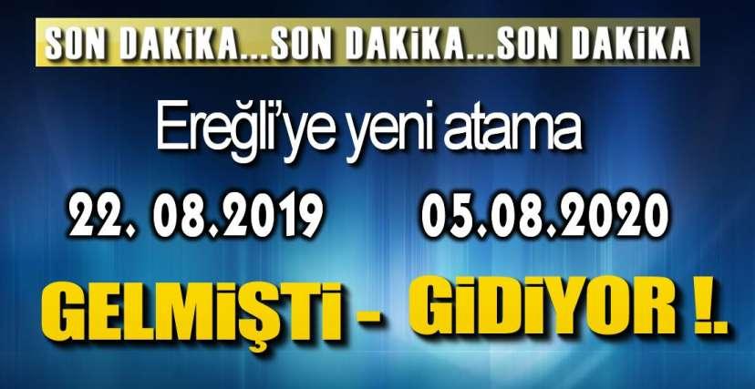 YENİ GÜN YENİ ATAMA İLE BAŞLADI !.