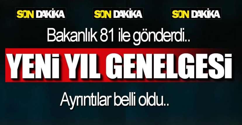 YENİ YIL GENELGESİ !.