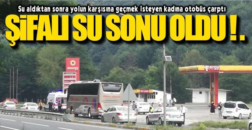 ZONGULDAK SEFERİNİ YAPIYORDU !.